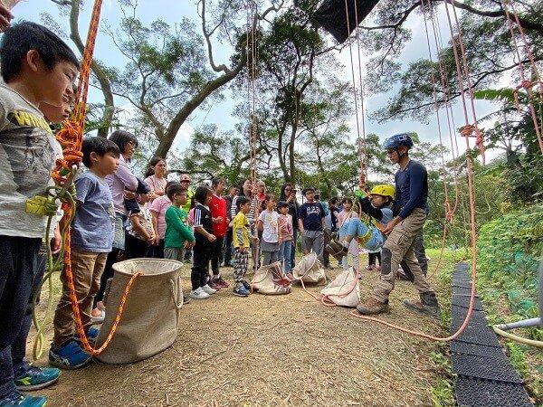 桃園親子攀樹體驗